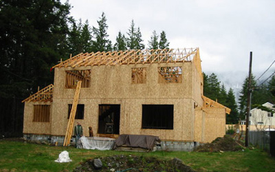 North Bend Home Framing