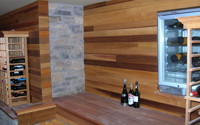 Sammamish Wine Cellar Entry/Bench